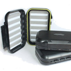 Waterproof Flybox Slotted Black streamx south africa